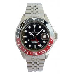 Steinhart Steinhart Ocean One GMT BLACK-RED. 2 Ceramic 103-1210