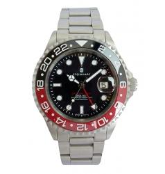 Steinhart Ocean One GMT BLACK-RED Ceramic 103-1209